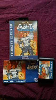 THE PUNISHER SEGA MEGADRIVE MEGA DRIVE PAL