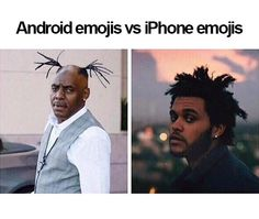 I think Apple is better. Sorry to all you Android users! Android is still amazing!! Please don't think I'm a stuck up snob!!