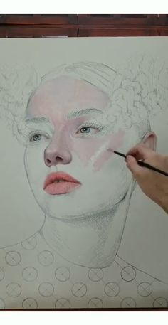 Skin Painting Process by Part 1 - Art and Drawings - Art Sketches Art Lessons, Watercolor Art, Art Painting, Art Drawings, Drawings, Painting, Art, Canvas Painting, Portrait Art