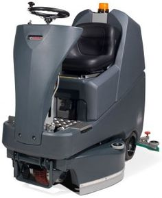 The Numatic TTV-678G Ride-on Scrubber Drier, now part of the new TwinTec Graphite range from Numatic! This new graphite colour scheme supersedes the previous blue colour scheme. Why not check out the range on our website!
