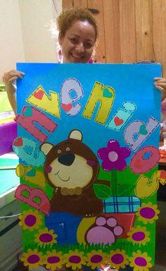 Cartel de bienvenida Ideas Para, Salons, Classroom, Country, Kids, Gardens, School Ideas, Toddler Classroom, Armor Of God
