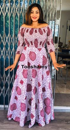 Beddable Ankara Styles to Rock - Vincisjournal Ankara Long Gown Styles, Latest African Fashion Dresses, African Dresses For Women, African Attire, Ankara Styles, African Print Dress Designs, African Print Clothing, African Print Fashion, African American Fashion