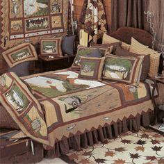 cute bedding for boys room!