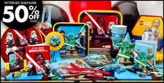 Lego Star Wars Party Supplies - Lego Star Wars Birthday-Party City
