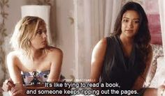 funniest hanna quotes from pretty little liars Pll Quotes, Movie Quotes, Qoutes, Pretty Little Liars Quotes, Film Song, Pretty Little Lairs, Abc Family, Always And Forever, Dance Moms