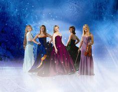 Celtic Woman. left to right: Chloe Agnew, Lisa Kelly, Maev thereisnowayicanspellherlastname, Orla Fallon, Mairead Nesbitt