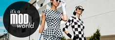 Have to admit it--these outfits are pretty fab.  Shabby Apple - It's A Mod World