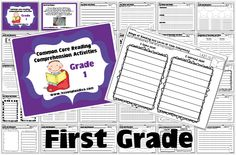 Reading Comprehension Activities for Grades K-2 GIVEAWAY!