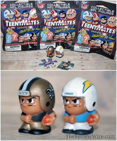 Lil' TeamMates and TeenyMates: Collectable Sports Figures #sports #football