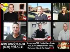 @Woody's Automotive Group You'll Find Knowledgeable, Friendly Sales Advisors Not Pushy Saleman