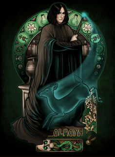 Always - Art Print - Severus Snape - by Megan Lara $17