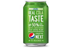 Pepsi NEXT - uusi vihreä ulkoasu