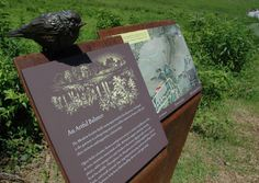 Longwood Gardens Interpretive Signage | Direct Embed Coating Systems