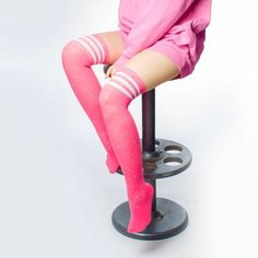 2ea41400d 18 Best pink knee high socks images