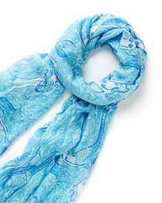 Lilly Pulitzer Murfee Scarf in Nice Tail