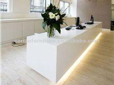 Corian modern designed stylish reception desk RT-132