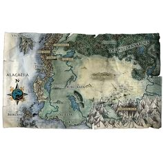 Eragon-alagaesia-map-2.jpg ❤ liked on Polyvore featuring backgrounds and filler
