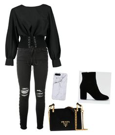 """Untitled #14"" by isidora-mary on Polyvore featuring AMIRI, Boohoo, American Eagle Outfitters, Prada, men's fashion and menswear"
