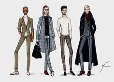FW15 Men's Collection by Yigit Ozcakmak