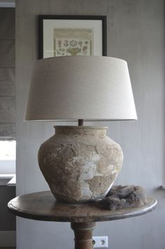 bedside table lamps the range CLICK Visit link above for more options at Lamps Are Decorative And Functional Too. reverse hand painted table lamps pair of art deco table lamps Decor, Bedside Table Lamps, Big Lamp, Home Decor, Table Lamps Living Room, Rustic Lamps, Rustic Bedside Table, Lamps Living Room, Stone Lamp