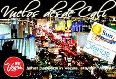 #Vuelos desde #Cali a Las Vegas Nevada en Estados Unidos y disfruta de un #Disney para grandes.  #Reserveplandeviaje  o en www.sunbeachcali.com