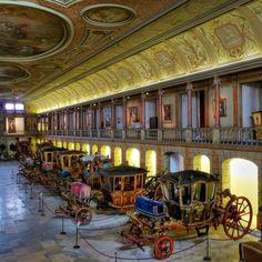 Museu Nacional dos Coches in Lisbon - Utrip.com #travel #lisbon