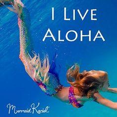 Amazon.com: I Live Aloha - Single: Mermaid Kariel: MP3 Downloads