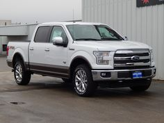 2015 Ford F150 King Ranch 4X4. The all new 2015 Ford F150 has arrived at Longhorn Ford and this King Ranch is a beautiful example of the innovative new truck.  #FordF150