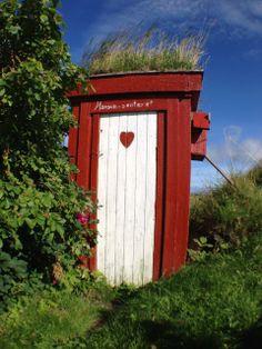World's most scenic outhouse, Vega Islands, Helgeland, Norway