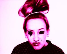<3 funny face <3