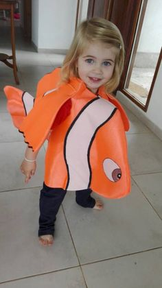 Clown Fish custome. Finding Dory Nemo inspired. Pageant outfit Finding Nemo Costume, Finding Dory, Pageant, Fish, Costumes, Inspired, Trending Outfits, Unique, Clothes