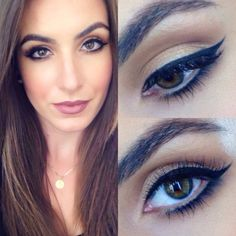 Neutral Glam Eyes (find out what products were used) #eyemakeup #eyeliner #gracytracy #mauvelips - bellashoot.com & bellashoot iPhone & iPad app