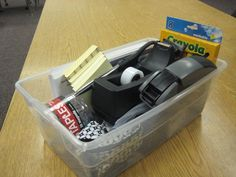 Tips for packing up the classroom at the end of the year.