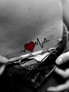 35+ Best Small Tattoo Designs This is cute, get the boys names one on each side since I had a c-section with each of them.