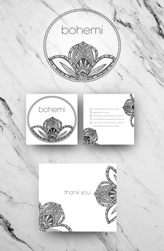 Logo and branding design for Bohemi a fabulous Bohemian Jewelry label based in the US.