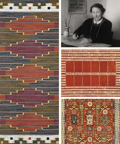 Märta Måås-Fjetterström I Swedish textile artist Textile Texture, Textile Fiber Art, Textile Artists, Weaving Textiles, Tapestry Weaving, Navajo Weaving, Hand Weaving, Fabric Structure, Swedish Weaving