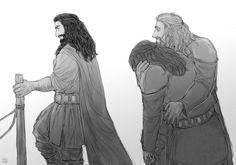 ' 'Do not disappoint me next time, Fili. Le Hobbit Thorin, Fili Y Kili, Hobbit 3, Tolkien Books, Jrr Tolkien, The Misty Mountains Cold, Bagginshield, Desolation Of Smaug, Thorin Oakenshield