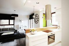 Apartament in Warsaw #modernapartament #interiordesign #livingroom #kitchen