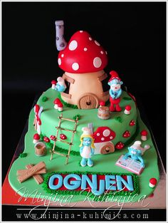 Smurfs — Children's Birthday Cakes