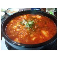 #sundubujjigae #ramen for #lunch #korean #food #sundubu #jjigae #noodle #spicy #tofu #philippines #スンドゥブチゲ #ラーメン #韓国 #料理 #フィリピン