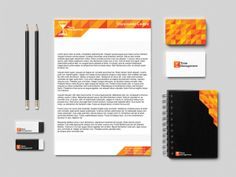 Time Management Branding by Maz Elkhatib, via Behance