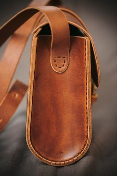 Bag Brown Carey/ Woman Leather Bag / Leather от DNCraftsRussia