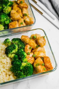 This orange chicken meal prep is perfect for making on the weekend to have lunch throughout the week! It's gluten-free, paleo, and can be made and AIP. Meal Prep Bowls, Easy Meal Prep, Healthy Meal Prep, Healthy Eating, Healthy Recipes, Paleo Food, Weekend Meal Prep, Cooking Recipes, Free Recipes