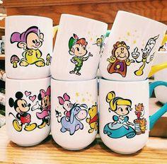 Disney mugs too cute