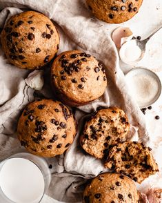 Healthy Muffin Recipes, Healthier Desserts, Delicious Desserts, Yummy Food, Vegan Breakfast, Breakfast Recipes, Dessert Recipes, Dairy Free Yogurt, Vegan Cupcakes
