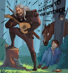 The Witcher Netflix Memes Funny Anime Wolf, The Witcher Geralt, Witcher Art, Anime Angel, Bts Anime, Anime Cosplay, Fanart, Anime Outfits, The Witcher Series