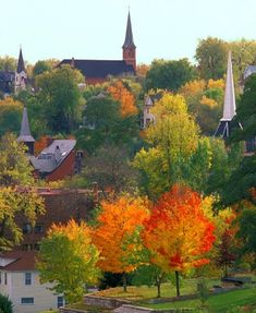 Beautiful Fall Colors in Stillwater, OK Stillwater Minnesota, Minnesota Home, Minneapolis, Photos, Pictures, Places To See, Beautiful Places, Around The Worlds, Vacation