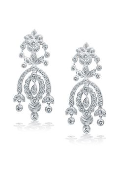 King Jewelers Diamond Chandelier Earrings Jewelers draws strength from their long-held tradition of excellence in design, craftsmanship, originality, & quality. Diamond Chandelier Earrings, Diamond Jewelry, Gold Jewelry, Jewellery, Fine Bridal Jewelry, Fine Jewelry, Tie Accessories, Sparkle Wedding, Diamond Are A Girls Best Friend