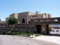 Ennis Brown House, Los Feliz, Los Angeles...featured in several movies; deemed the House on Haunted Hill