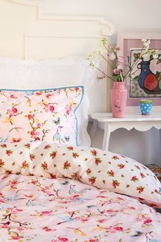 Sweet & happy color palette for growing little girl's room inspiration